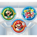 Amscan 291554 291554 Super Mario Tissue Decorations
