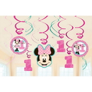 Partypro 671834 Minnie Fun To Be One Swirl Decorations