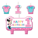 Partypro 171834 Minnie Fun To Be One Candle Set