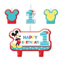 Partypro 171833 Mickey Fun To Be One Candle Set