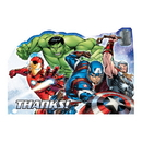 Amscan 481733 Avenger Epic Thank You Note