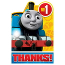 Partypro 481752 Thomas All Aboard Thank You Note