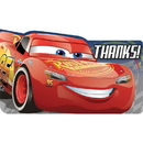 Partypro 481763 Cars 3 Thank You Note