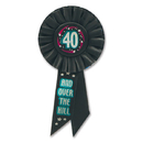 Partypro RS154 40Th Birthday Rosette