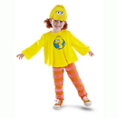 Disguise 50069M Big Bird Classic Toddler M (3T-4T)