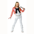 Partypro 7100G Hannah With Pink Jacket L (10-12) Child