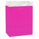 Partypro 22134 Bombay Pink Glossy Gift Bag Small