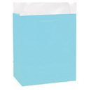 Partypro 22154 Baby Blue Glossy Gift Bag Small
