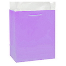 Partypro 22361 Lavender Glossy Gift Bag Large