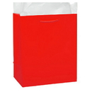 Partypro 22370 Red Glossy Gift Bag Large