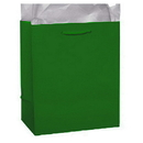 Partypro 22381 Emerald Green Glossy Gift Bag Large