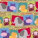 Partypro 76013 Jungle Birthday Gift Wrap
