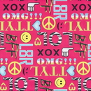 Partypro 76036 Text Chat Gift Wrap