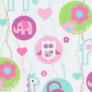 Partypro 76051 Baby Girl Gift Wrap