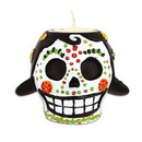 Beistle 00931 Day Of The Dead Female Tea Light Holder