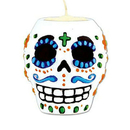 Beistle  Day Of The Dead Male Tea Light Holder