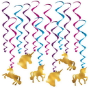 Partypro 034689059370 Unicorn Whirls (12 Pieces)