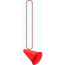 Beistle 50243-R Megaphone W/Beads Red