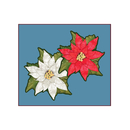 MINI POINSETTIA CUTOUTS