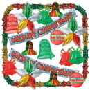 Partypro 22707 Merry Christmas Met Decorating Kit-20 Ct