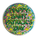 ST. PATRICK'S DAY PRISMATIC BUTTON