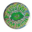 ST. PATRICK'S DAY I'M IRISH PRISM BUTTON