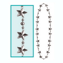 Partypro 50112-S Silver Star Beads
