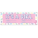 IT'S A GIRL BANNER (60X21 IN.)