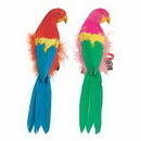FEATHERED PARROTS 12IN.