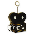 Beistle 50219 Movie Camera Photo/Balloon Holder