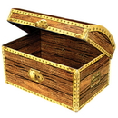 Partypro 50354 Treasure Chest Box Small