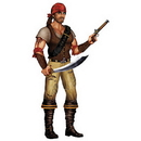 SWASHBUCKLER PIRATE (38IN.)