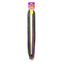 Partypro 50570 Gold/Green/Purpl Small Round Beads 12/Ct