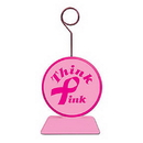 Partypro 50659 Pink Ribbon Photo/Balloon Holder