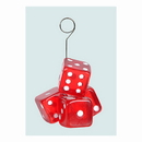 Beistle 50782 Dice Photo/Balloon Holder