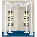 Partypro 53025-W Elite Collection Canopy