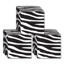 Beistle  Zebra Print Favor Boxes