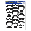 Beistle 54461 Moustaches Peel 'N Place