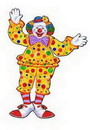 CLOWN DECORATION JOINTED (30IN.)