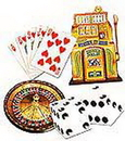 Partypro 55194 Casino Vegas Cutouts (16In.-4 Ct.)