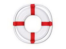 Partypro 55502 Life Preserver 23In.