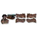 Partypro 55705 Pirate Decoration Cutouts