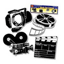 Partypro 55722 Movie Set Decorations (16In.)
