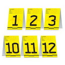 Partypro 57833 Psi Table Cards
