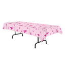 Beistle 57939 Pink Ribbon Tablecover