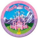 Partypro 58001 Princess Party Dinner Plate (9In.)