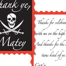 Partypro 58304 Pirate Thank You Notes