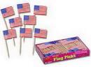 Beistle 60101 American Flag Picks (144 Ct.)