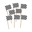 Partypro 60104 Racing Flag Picks