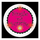 FLASHING SINGLE 'TIL SUNRISE BUTTON 1/PK